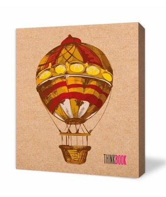 Thinkbook Natura Kraft Balon 9x10 Defter