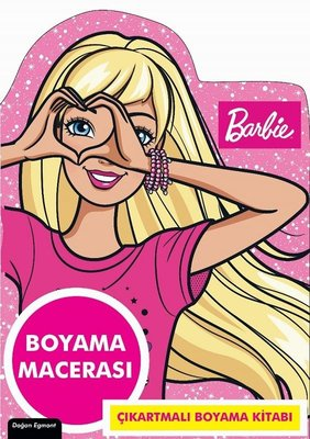 Barbie-Özel Kesimli Boyama Macerası