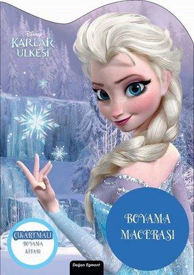 Disney Karlar Ülkesi-Özel Kesimli Boyama Macerası