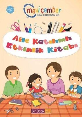 Aile Katılımlı Etkinlik Kitabı-48 Ay ve Üzeri Mavi Çember Okul Öncesi Eğitim Seti