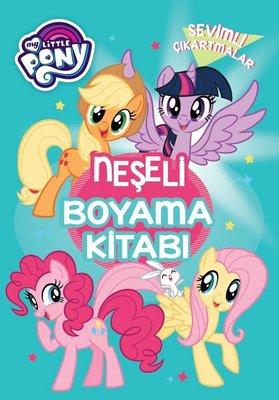My Little Pony Sevimli Çıkartmalar-Neşeli Boyama Kitabı