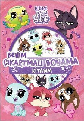Little Pet Shop Benim Çıkmartmalı Boyama Kitabım