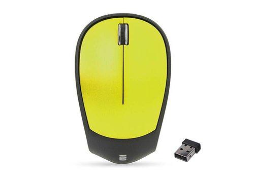 Everest SM-340 3D Optik Süper Sessiz Alkalin Pilli Kablosuz Mouse Usb Yeşil