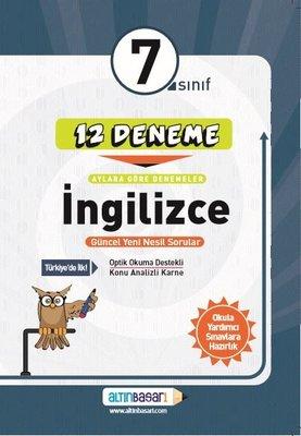 7.Sınıf İngilizce 12 Deneme