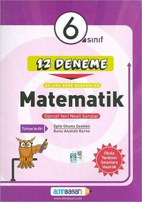 6.Sınıf Matematik 12 Deneme