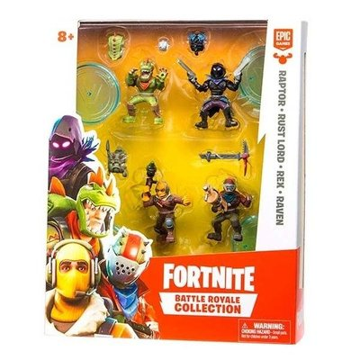 Fortnite Mini 4'Lü Figür Seti (63508)