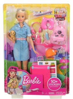 Barbie Bebek Travel Lead Doll Seyahat Bebeği ve Aksesuarları