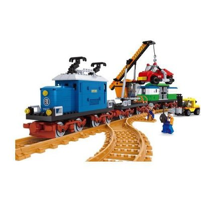Ausini Cıty Tren Set 724 Parça