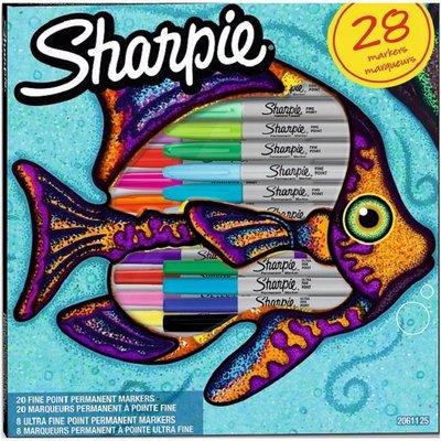 Sharpie Fine Permanent Markör 28li Kutu Balık