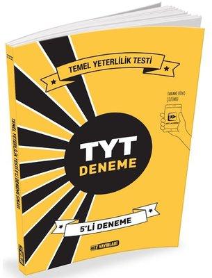 TYT Deneme 5'li Deneme