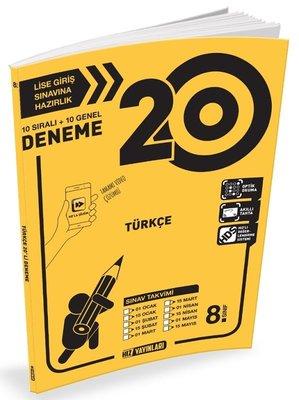 8.Sınıf Türkçe 20 Deneme