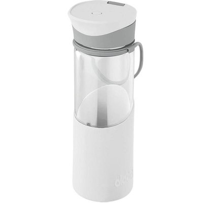 Alad-Enjoy Glass Water Bottle 0.55L  Beyaz