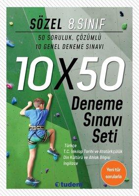 8.Sınıf Sözel 10x50 Deneme Sınavı Seti