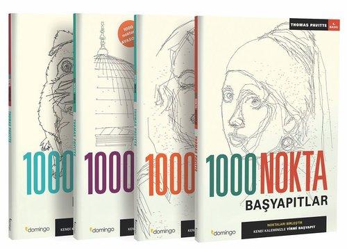 1000 Nokta Seti-4 Kitap Takım