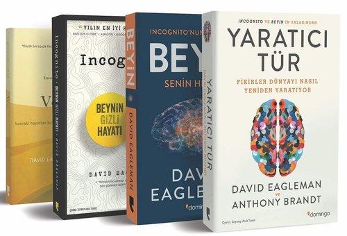 David Eagleman Seti-4 Kitap Takım
