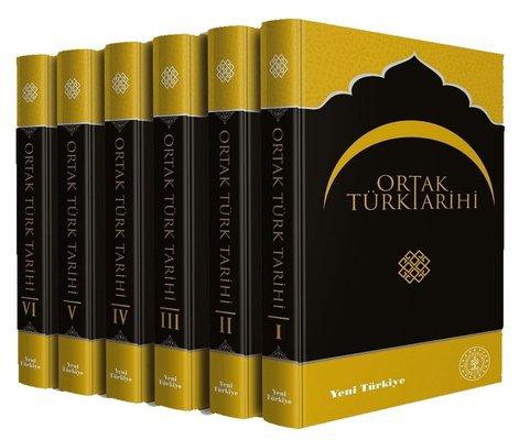 Ortak Türk Tarihi-6 Kitap Takım