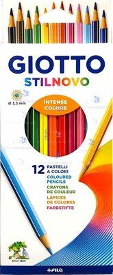 Giotto Stilnovo Askılı Paket 12'li Kuru Boya
