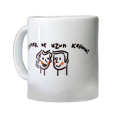 Tofd-Seramik Kupa (BRD-003) Sevmek