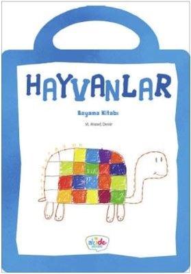 Hayvanlar-Boyama Kitabı