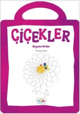 Çiçekler-Boyama Kitabı