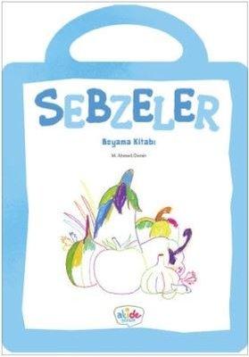 Sebzeler-Boyama Kitabı