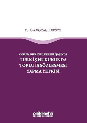 Avrupa Birliği İlkeleri Işığında Türk İş Hukukunda Toplu İş Sözleşmesi Yapma Yetkisi