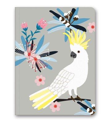 Le Color Nature 14x20 Beyaz Papağan 128 Sayfa