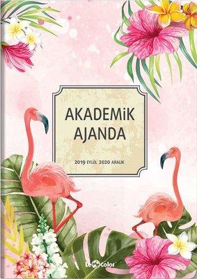 Le Color Akademik 17x24 Flamingo Ajanda 256 Sayfa