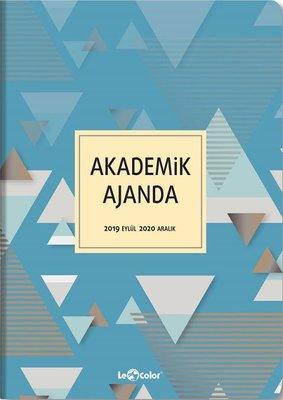 Le Color Akademik 17X24 Üçgen Ajanda 256 Sayfa