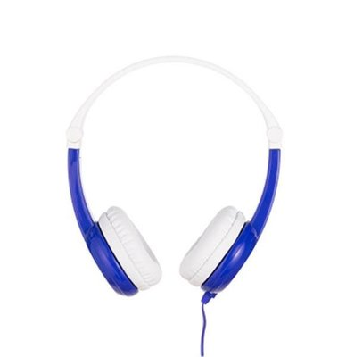 BuddyPhones Connect, Foldable with Mic Blue