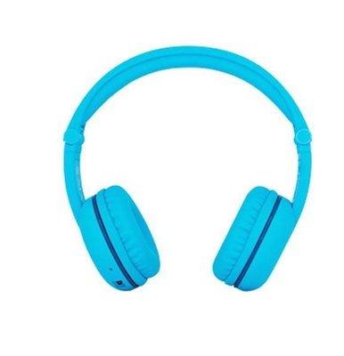 BuddyPhones Play Glacier Blue Wireless HeadPhones