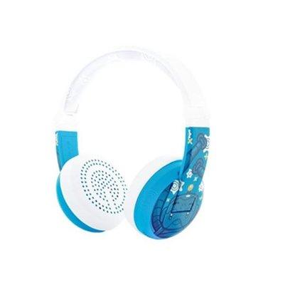 BuddyPhones Wave Robot Blue Wireless HeadPhones