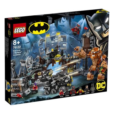 Lego DC Batman Batcave Clayface'in İşgali 76122