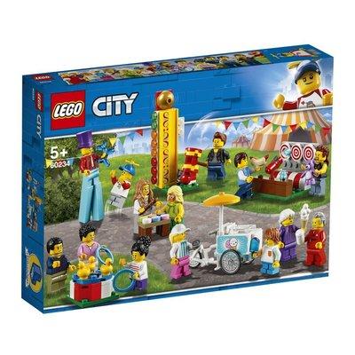 Lego City Town 60234 İnsan Paketi-Lunapark V29