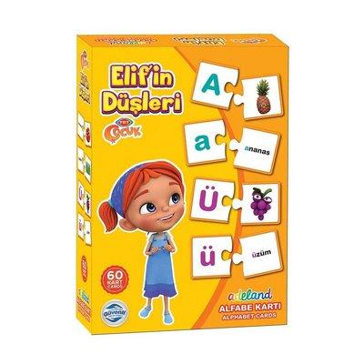 Elif'in Düşleri Alfabe Öğreniyorum