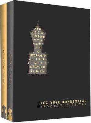 Yüz Yüze Konuşmalar Yaşayan Edebiyat Seti-2 Cilt Takım