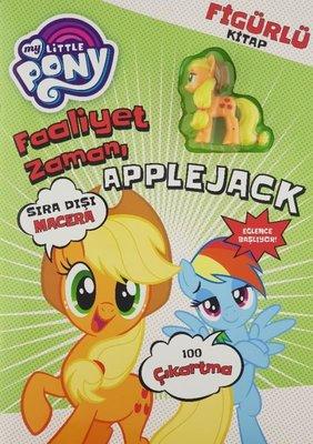 My Little Pony Faaliyet Zamanı Applejack-Figürlü Kitap