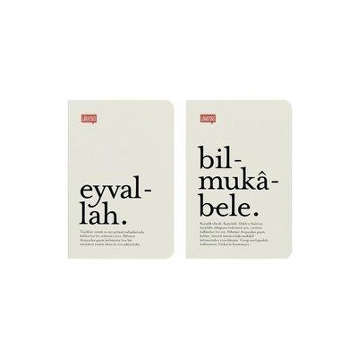 Lugat365 9*13 İkili Cep Defteri-Eyvallah&Bilmukabele
