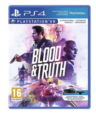 Blood and Truth VR PS4 Oyun