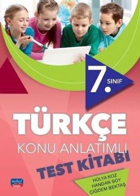 7.Sınıf Türkçe Konu Anlatımlı Test Kitabı