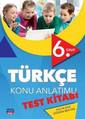 6.Sınıf Türkçe Konu Anlatımlı Test Kitabı