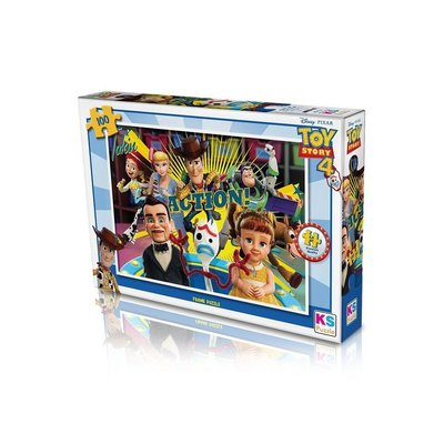 Ks Games-Puz.100 Toy Story