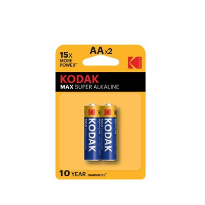 Kodak 2 Adet Max Super Alkalin Kalem Pil 30952829