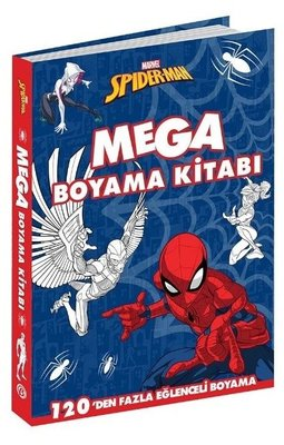 Marvel Spider-Man-Mega Boyama Kitabı