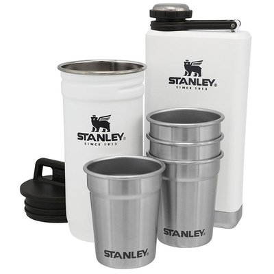 Stanley Adventure Pre-Party Shotglass + Flask Set