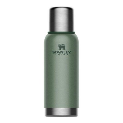 Stanley-Adventure Stainless Steel Vacuum Bottle 0.73L Hammertone Green