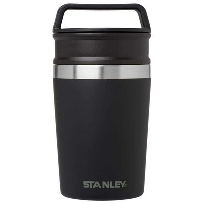 Stanley-Adventure Shortstack Travel Mug 0.23L Matte Black
