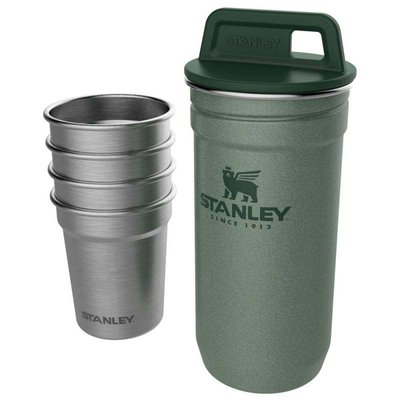 Stanley-Adventure Nesting Shot Glass Set Hammertone Green