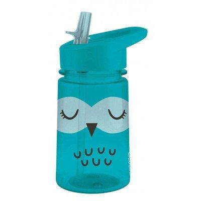 Aladdin-Zoo Flip & Sip Water Bottle 0.43L Owl