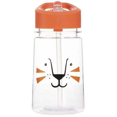 Aladdin-Zoo Flip & Sip Water Bottle 0.43L Lion